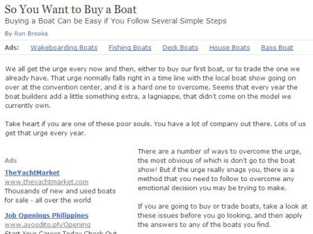 Buy Boat