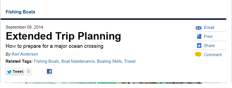 Extended Trip Planning