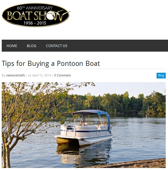 Tips For Buying A Pntoon Boat